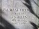 Profile photo:  Iva <I>West</I> Allen
