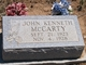 John Kenneth McCarty