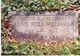 Annie Hall <I>Ross</I> Williams
