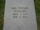 Profile photo:  Ada <I>Thomas</I> Hoggard