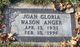 Joan Gloria <I>Wason</I> Anger