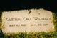 Cluthia Opal <I>Miller</I> Wilhelmy