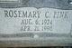 Rosemary Caroline <I>Fink</I> Bradley