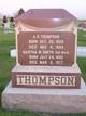 Martha Winslow <I>Smith</I> Thompson