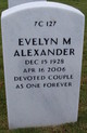 Evelyn <I>Myers</I> Alexander