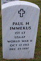 Paul H Immekus