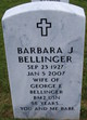 Barbara Jane Bellinger