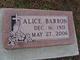 Profile photo:  Alice Barron