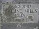 Profile photo:  Adoline W. <I>Mills</I> Lyda