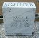 Nancy E <I>Teal</I> Worthan