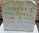 Profile photo:  Robert S Braswell