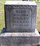 "Profile photo:  Abigail Frances ""Abbie"" <I>McAlphin</I> Gourley"