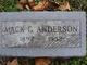 Mack G. Anderson