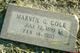 Marvin G. Cole