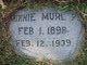 Profile photo:  Minnie Murl <I>Pinckard</I> Threet