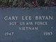 Profile photo: Sgt Gary Lee Bryan