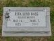 "Profile photo:  Rita Melvina ""Wee"" <I>Loyd</I> Bass"