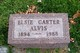 Profile photo:  Elsie Ellen <I>Carter</I> Alvis