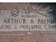 "Arthur B ""Art"" Payne"