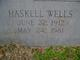 Haskell Wells
