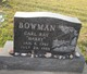"Profile photo:  Carl Ray ""Harry"" Bowman"
