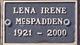 Lena Irene McSpadden