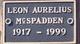 Leon Aurelius McSpadden