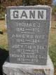 Anna M <I>Hobbs</I> Gann