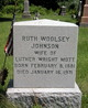 Ruth Woolsey <I>Johnson</I> Mott