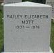 Bailey Elizabeth Mott
