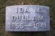 Ida M. <I>Zimmerman</I> Dullam