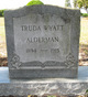 Truda <I>Wyatt</I> Alderman