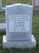 Profile photo:  Aaron Glick