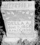 Della A <I>Oberle</I> Scribner