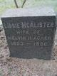 "Profile photo:  H. L. ""Libbie"" <I>McCalister</I> Acker"