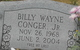 Profile photo:  Billy Wayne Conger