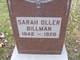 Sarah Margaret <I>Oller</I> Billman