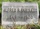 Profile photo:  Alfred R. Bartlett