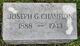 Profile photo:  Joseph G. Champion