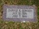 Profile photo:  Harold K Elwood