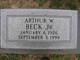 Profile photo:  Arthur W Beck, Jr
