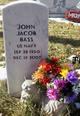 Profile photo:  John Jacob Bass