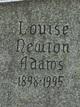 Louise Eleanor <I>Newton</I> Adams