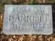 Profile photo:  Harold Eddy Barrett