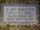 Profile photo:  H Roy Hamilton