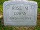 Profile photo:  Rose M Cowan