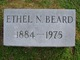 Profile photo:  Ethel N Beard
