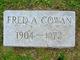 Profile photo:  Frederick A Cowan