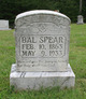 """Valentine """"Bal"""" Spear"""