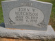 John W Hutchinson